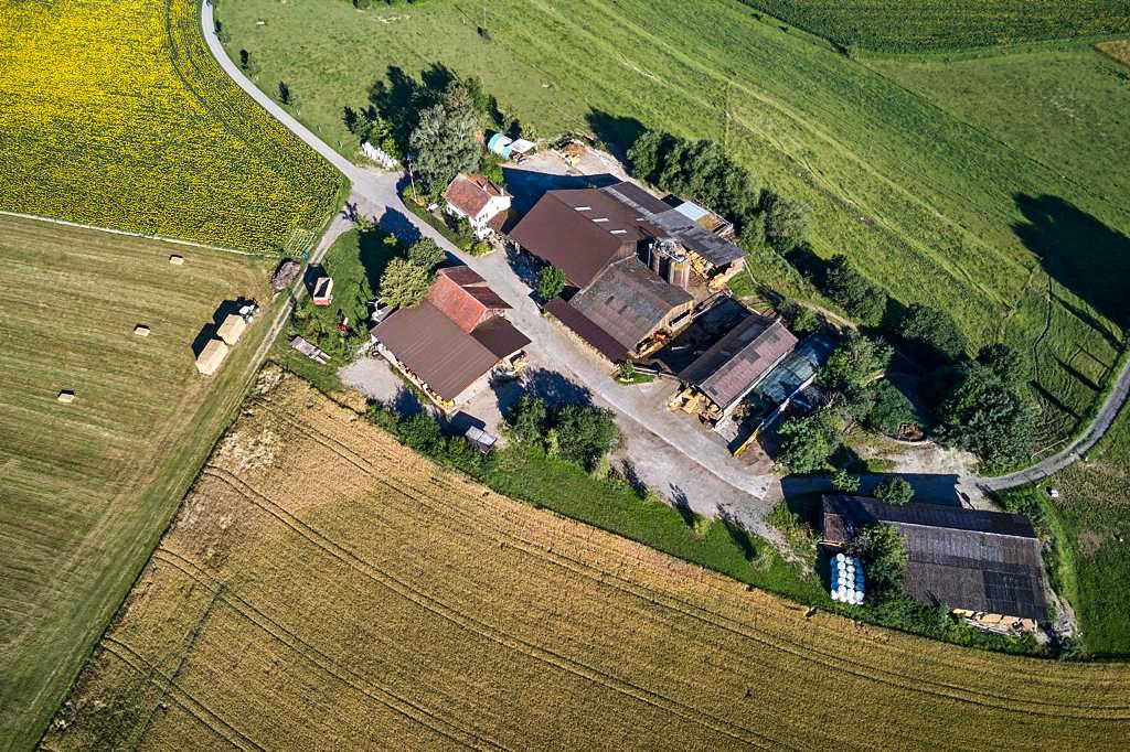 Blomberghof Ansicht von oben